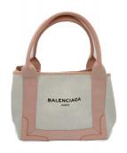 BALENCIAGA(バレンシアガ)の古着「トートバッグ」|ベージュ×ピンク