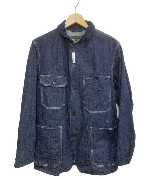 Engineered Garments(エンジニアードガーメンツ)Engineered Garments (エンジニアードガーメンツ) Coverall Jacket インディゴ サイズ:XSの古着・服飾アイテム