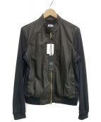 EMMETI(エンメティ)の古着「レザージャケット」|ブラック