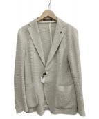 TAGLIATORE(タリアトーレ)の古着「シングルジャケット」|ベージュ