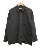 POLYPLOID(ポリプロイド)の古着「シャツジャケットC」 ブラック