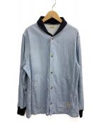 BELAFONTE(ベラフォンテ)の古着「エンブロイダリーブルゾン」|インディゴ
