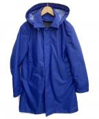 DESIGNWORKS(デザインワークス)の古着「フーデッドコート」|ブルー