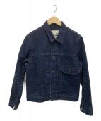 BURGUS PLUS(バーガスプラス)の古着「ヘビーダックジャケット」|インディゴ