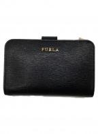 FURLA()の古着「2つ折り財布」|ブラック