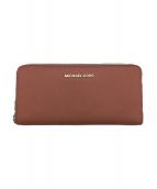 MICHAEL KORS(マイケルコース)の古着「ラウンドファスナー財布」|ピンク