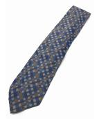 GUCCI(グッチ)の古着「ネクタイ」|ブルー×グレー