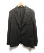 Berluti(ベルルッティ)の古着「異素材テーラードジャケット」|ブラウン