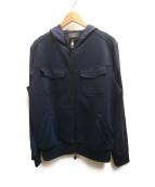 Berluti(ベルルッティ)の古着「ジップパーカー」|ブルー