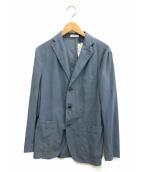 BOGLIOLI(ボリオリ)の古着「テーラードジャケット」|ブルー