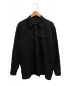 COMOLI(コモリ)の古着「ベタシャンユーティリティジャケット」 ネイビー