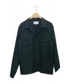 Maison Margiela(メゾンマルジェラ)の古着「シャツジャケット」|ブラック