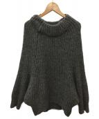 Traditional Weatherwear(トラディショナルウェザーウェア)の古着「ハイネックニット」|グレー