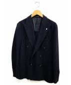 TAGLIATORE(タリアトーレ)の古着「6Bダブルブレストジャケット」|ネイビー