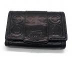 COACH(コーチ)の古着「2つ折り財布」|ブラック