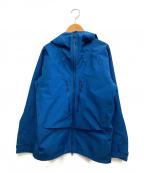 MAMMUT(マムート)の古着「Teton HS Hooded ジャケット」 ブルー