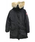 CANADA GOOSE(カナダグース)の古着「ロスクレアパーカー」|ブラック