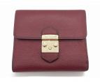 FURLA(フルラ)の古着「2つ折り財布」|ワインレッド