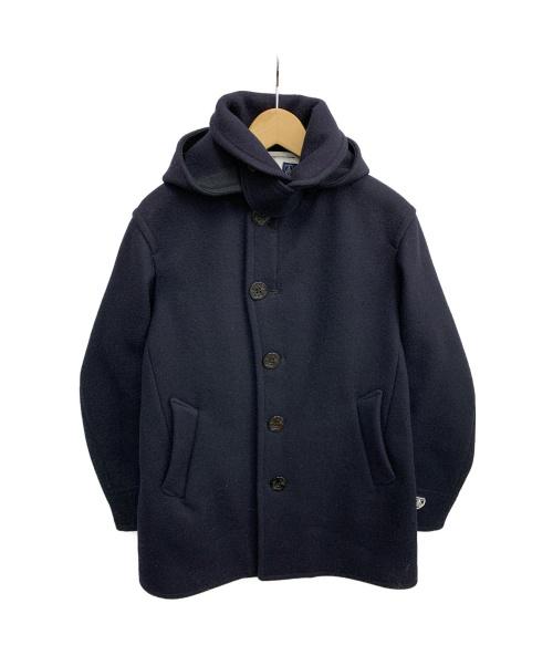 ORCIVAL(オーシバル)ORCIVAL (オーシバル) ウールコート ネイビー サイズ:4の古着・服飾アイテム