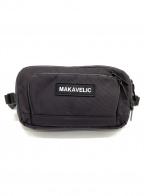 MAKAVELIC(マキャベリック)の古着「ウエストポーチ」|ブラック