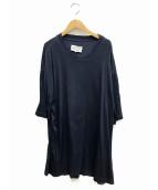 Maison Margiela(メゾンマルジェラ)の古着「ガーメントダイTシャツ」|ネイビー