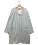 le coq sportif(ルコックスポルティフ)の古着「ロングカーディガン」|グリーン