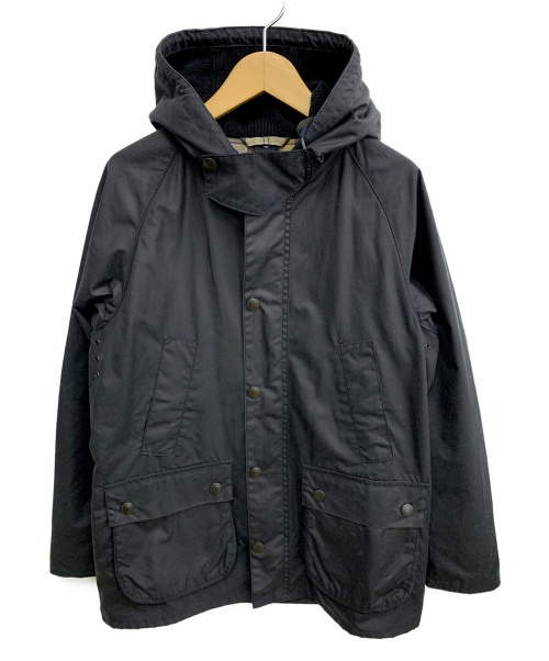 Barbour(バブアー)Barbour (バブアー) Hooded Bedale Slim Fit ブラック サイズ:36の古着・服飾アイテム
