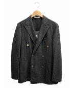 BOGLIOLI(ボリオリ)の古着「ダブルジャケット」|グレー