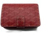 GOYARD(ゴヤール)の古着「2つ折り財布」|レッド