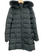 Demi-Luxe BEAMS(デミルクスビームス)の古着「FOXファーダウンコート」 ブラック