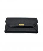 BALLY(バリー)の古着「長財布」|ブラック