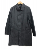 MACKINTOSH PHILOSOPHY(マッキントッシュフィロソフィー)の古着「コットンボンディング ステンカラーコート」|グレー