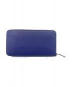HERMES(エルメス)の古着「ラクンドファスナー財布」|ネイビー