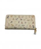 franche lippee(フランシュリッペ)の古着「長財布」 ベージュ