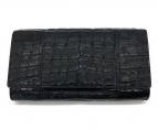 ()の古着「2つ折り長財布」 ブラック