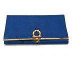 Salvatore Ferragamo(サルヴァトーレ フェラガモ)の古着「長財布」|ブルー