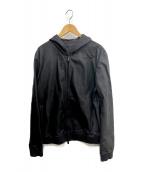 FENDI(フェンディ)の古着「ラムレザージャケット」|ブラック