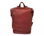 土屋鞄(ツチヤカバン)の古着「リュック」 レッド