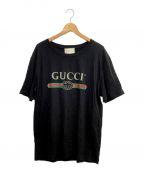 GUCCI(グッチ)の古着「Tシャツ」|ブラック