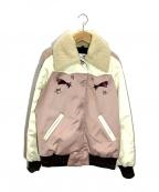 COACH(コーチ)の古着「スタジャン」|ピンク