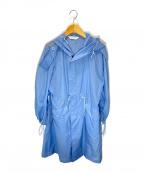 beautiful people(ビューティフルピープル)の古着「ライトリップモッズコート」 ブルー