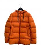 HERNO(ヘルノ)の古着「ダウンジャケット」 オレンジ