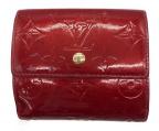 LOUIS VUITTON(ルイ ヴィトン)の古着「3つ折り財布」|レッド