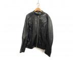 BEAUTY&YOUTH(ビューティアンドユース)の古着「レザージャケット」|ブラック