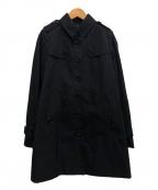 BURBERRY LONDON(バーバリー ロンドン)の古着「ステンカラーコート」|ブラック