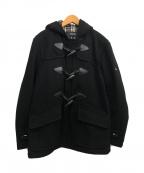 BURBERRY BLACK LABEL(バーバリーブラックレーベル)の古着「ダッフルコート」|ブラック