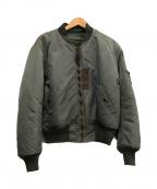 BUZZ RICKSON'S(バズリクソンズ)の古着「MA-1ジャケット」|オリーブ