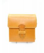 PORTER(ポーター)の古着「NATURE 折り財布」|オレンジ