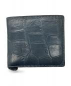 aniary(アニアリ)の古着「2つ折り財布」|ネイビー