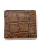 aniary(アニアリ)の古着「2つ折り財布」|ブラウン